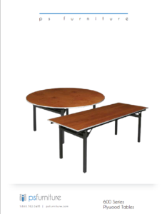 15. 600_Series_Plywood_Tables
