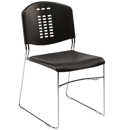 Premier Comfort Sled Stacking Chairs