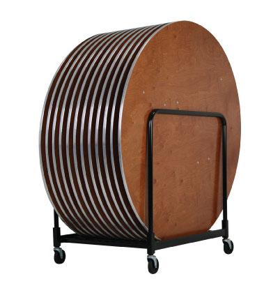 Round & Multi-Purpose Table Transport Carts