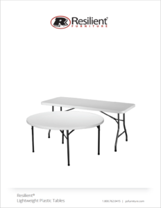 20. Resilient Plastic Tables
