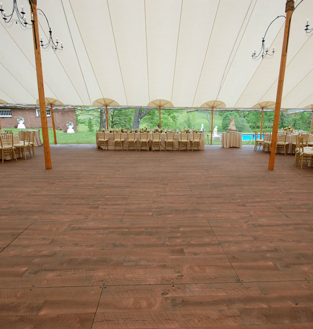 Groove Semi-Permanent Outdoor Flooring